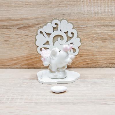Unicorno Rosa con Albero della Vita Claraluna