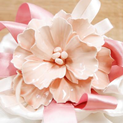 Sacchettone con Fiore Rosa Orchidea