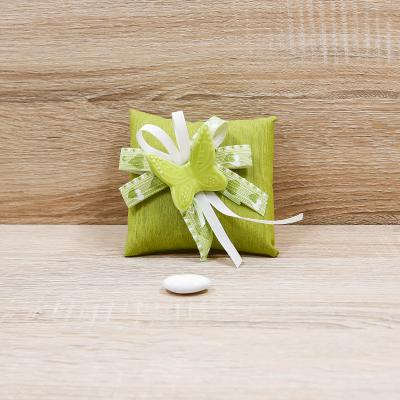Bustina con Magnete Farfalla Verde Orchidea