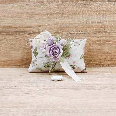 Bustina Provenza con Fiore Viola Orchidea