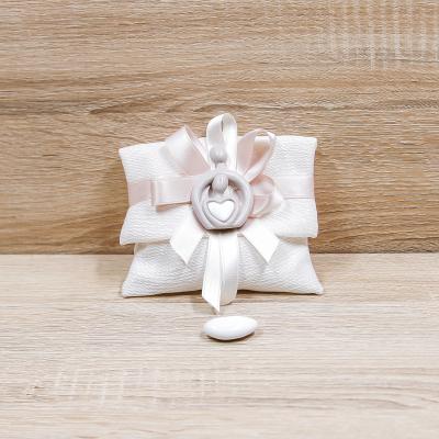 Sacchetto Bustina con Magnete Sposi Orchidea