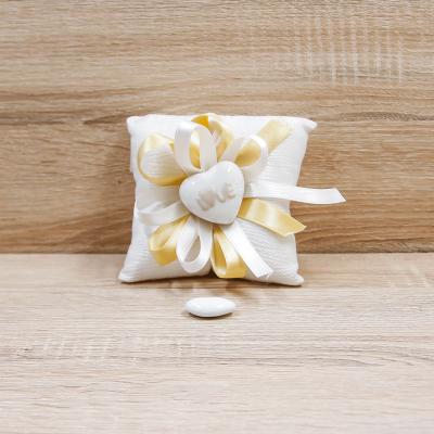 Cuscino con Magnete Cuore LOVE Orchidea