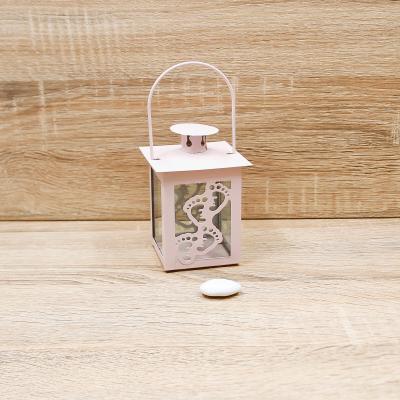 Lanterna con Piedini Orchidea