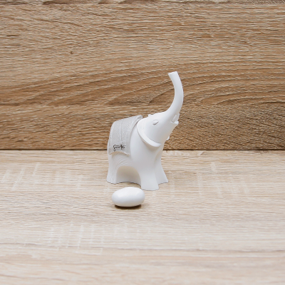 Elefante Corazza Tortora Piccolo Lully Argenti