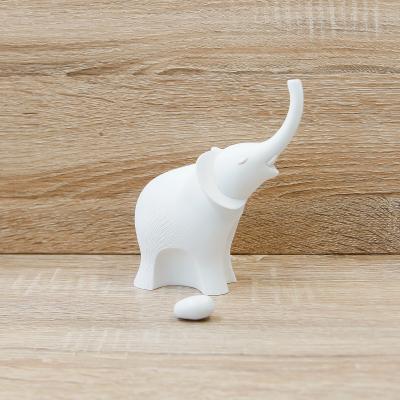 Elefante Bianco Medio Lully Argenti