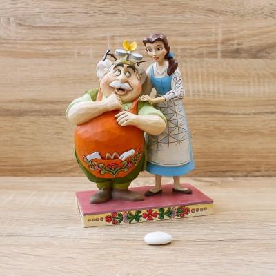 """Belle e Maurice """"Figlia Devota"""" Disney Traditions"""