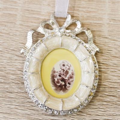 Portafoto Ovale Piccolo Orchidea Luxury