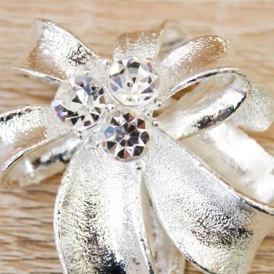 Spilla Fiocco Orchidea Luxury