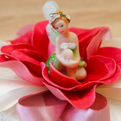 Portaconfetti con Fatina Orchidea