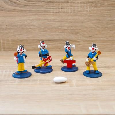 Gatto Silvestro Piccolo con Strumenti Musicali Looney Tunes