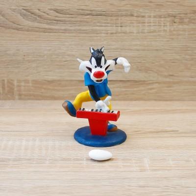Gatto Silvestro Grande con Piano Looney Tunes