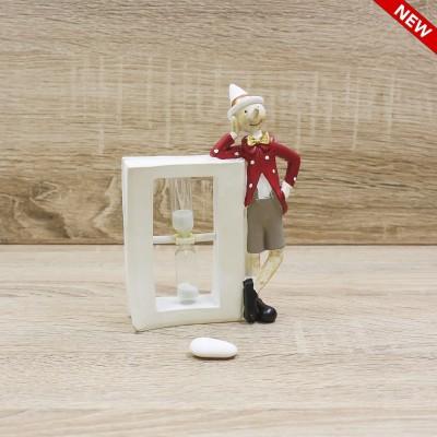 Pinocchio con Clessidra Orchidea