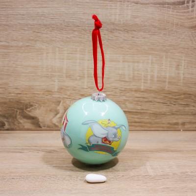 """Palla di Natale di Dumbo """"Il mio primo Natale"""" Disney"""