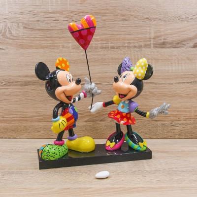 Topolino e Minnie con Cuore Disney Britto