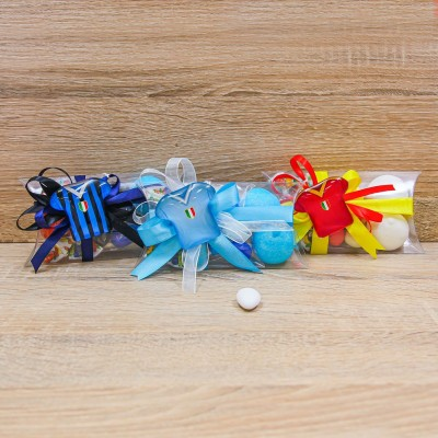 Portaconfetti con Magnete Maglia Calcio Orchidea