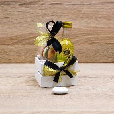 Cassetta Legno con Strega Orchidea