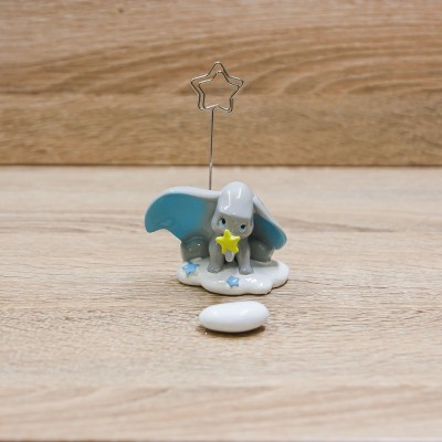 Clip Portafoto Dumbo Celeste Disney