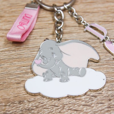 Portachiavi Dumbo Rosa Disney