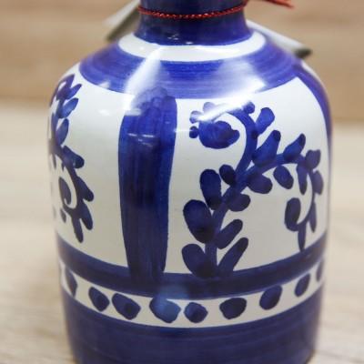 Bottiglia Liquore Decori Blu Il Borgo di Vietri