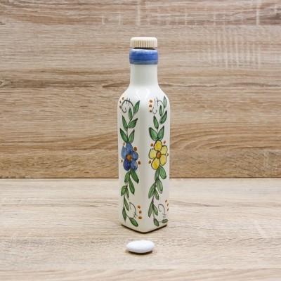 Bottiglia Liquore Fiori Giallo e Blu Il Borgo di Vietri