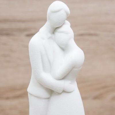 Coppia Sposi Medi con Led Ad Emozioni