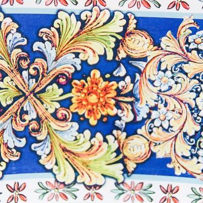 Svuotatasche Floreale in Blu Prendimi per Mano Solidale