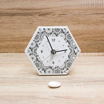 Orologio Esagonale Black&White Gattinoni