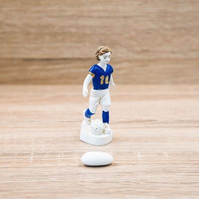 Calciatore Tema Calcio Lully Argenti