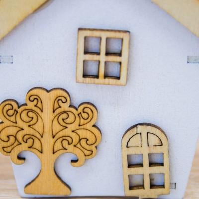 Portaconfetti Casa Orchidea