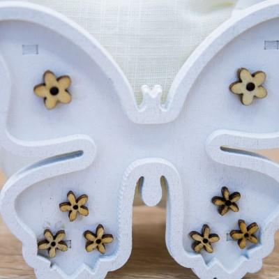 Portaconfetti Farfalla Orchidea
