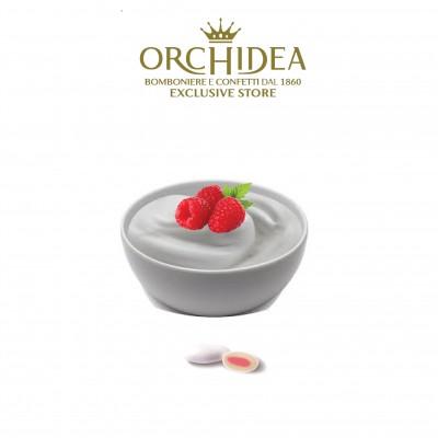 Confetti Milk Yogurt ai Lamponi Orchidea
