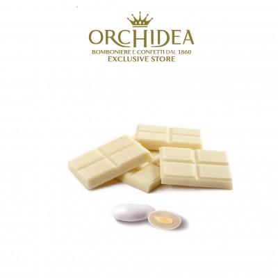Confetti Milk Cioccolato Bianco Orchidea