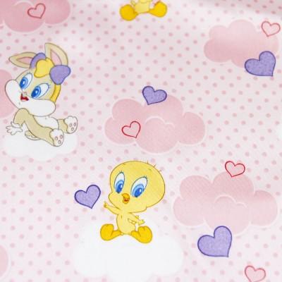 20 Pezzi Tovagliolo Rosa Looney Tunes