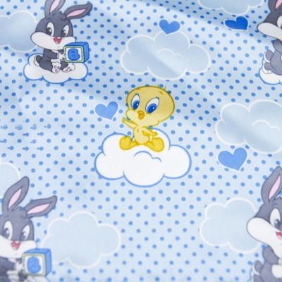 20 Pezzi Tovagliolo Celeste Looney Tunes