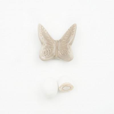 Magnete Farfalla Tortora Orchidea
