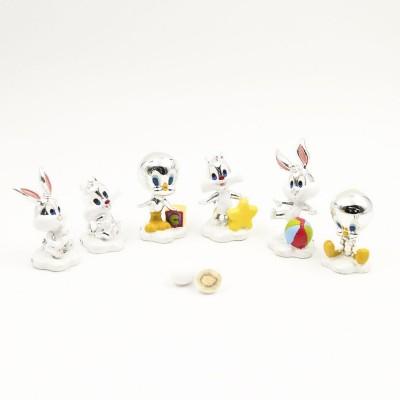 20 Pezzi Personaggi su nuvoletta argento Looney Tunes