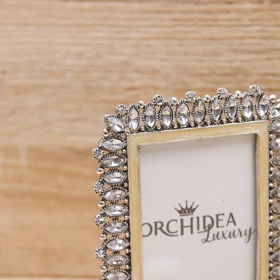 Doppio Portafoto Orchidea Luxury