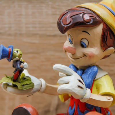 Pinocchio e il Grillo Parlante Disney Traditions