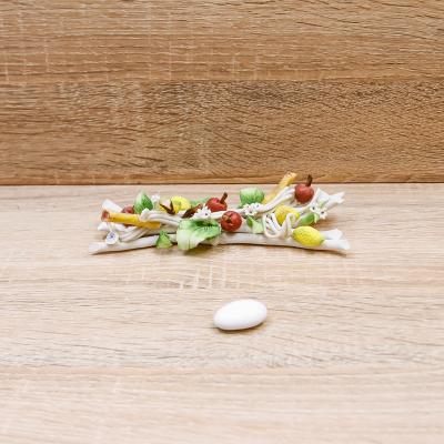 Tralcio Grande Linea Frutta Porcellane di Capodimonte