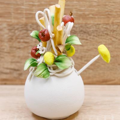 Profumatore Piccolo Matt Linea Frutta Porcellane di Capodimonte