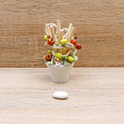 Profumatore Vaso Linea Frutta Porcellane di Capodimonte