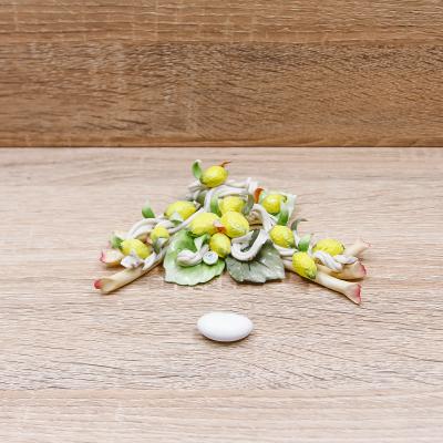 Tralcio di Limoni Linea Limoni Porcellane di Capodimonte