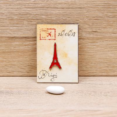 Magnete Tour Eiffel Linea Parigi Orchidea