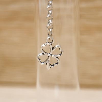 Fiala Portaconfetti Piccola con Quadrifoglio Orchidea