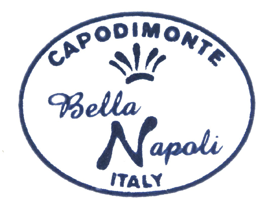 Porcellana di Capodimonte Bella Napoli